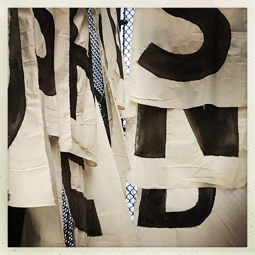 Stop Shopping Choir banners