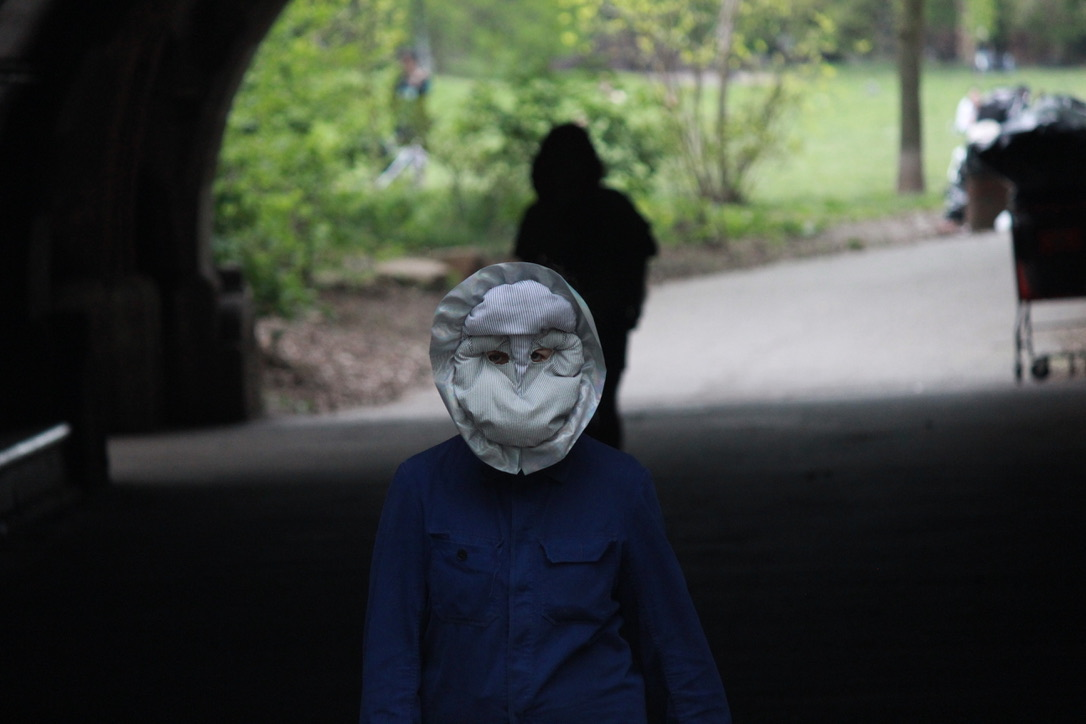 Stop Shopping Choir child in mask
