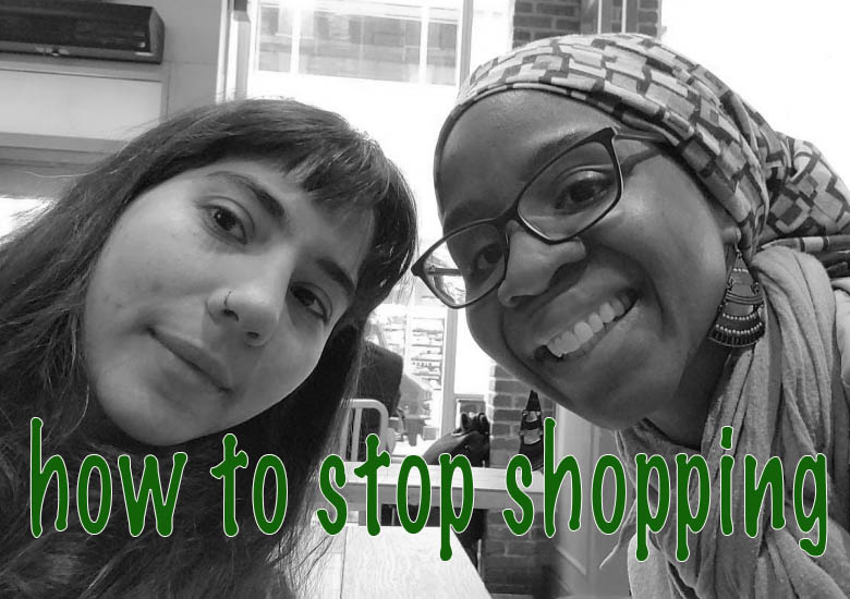 How to stop shopping